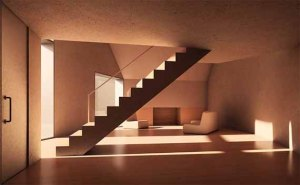 Stairs-Concrete-Moon-House-Design-by-Antonino-Cardillo