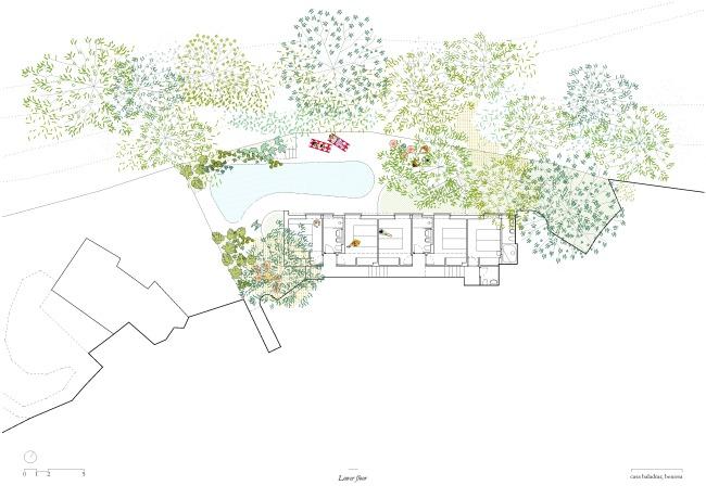 Langarita-Navarro arquitectos_Casa Baladrar_03_PLANTA BAJA